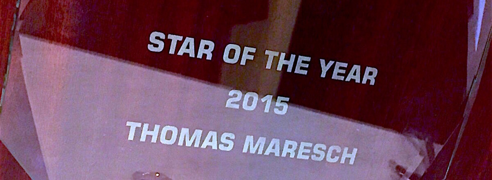 Star of the year 2015 !!