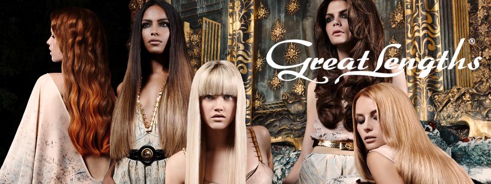 Haarverlängerung mit Great Lengths